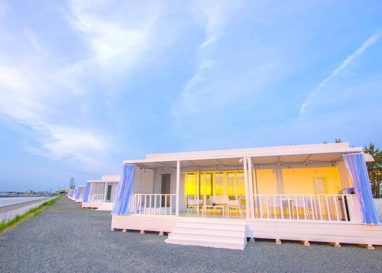 Stand-alone villa in the glamping area (Urban Camp Hotel Marble Beach)