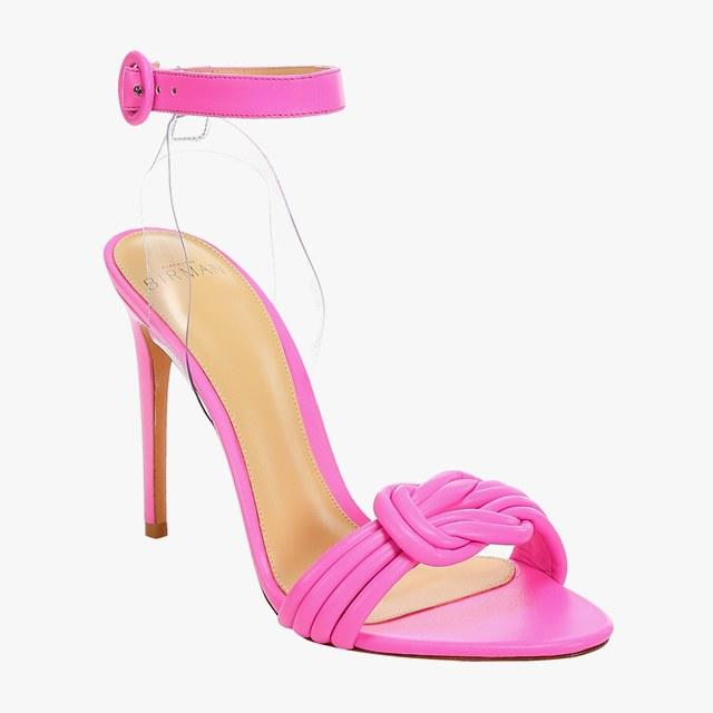 Alexandre Birman knot-detail stiletto sandals, $595, saks.com