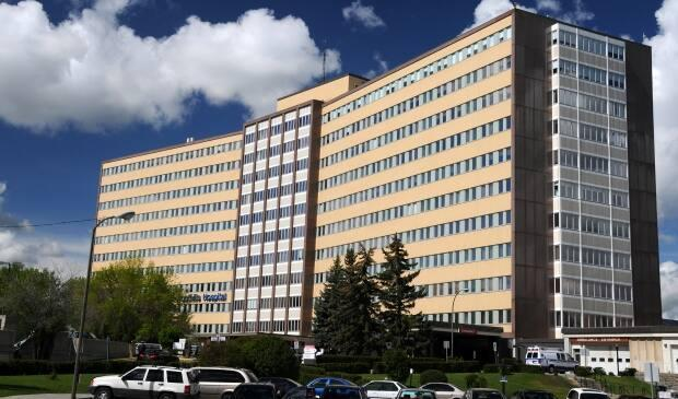 Calgary's Foothills Medical Centre has seen 22 cases of the Delta variant, including 16 patients and six health-care workers on two units. (Alberta Health Services - image credit)