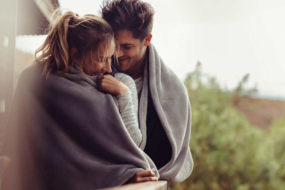 """<p>Breathe in your partner's pillow or just give their t-shirt a sniff—their natural scent could help lower your cortisol levels and reduce your perception of stress. In fact, women who smelled their partner's shirt (as opposed to a stranger's shirt) felt less stressed out even when they were exposed to a stressor afterward, shows a recent <a href=""""https://psycnet.apa.org/record/2017-57724-001"""" rel=""""nofollow noopener"""" target=""""_blank"""" data-ylk=""""slk:study"""" class=""""link rapid-noclick-resp"""">study</a> in the<em> Journal of Personality and Social Psychology</em>.</p>"""