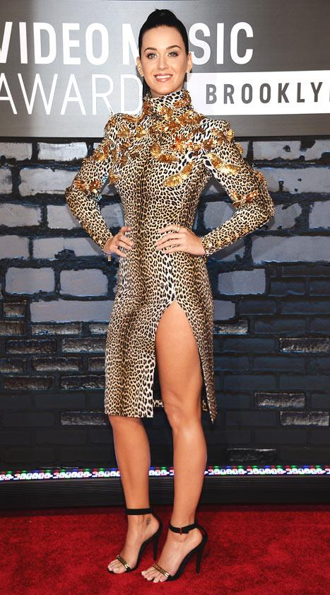 Katy Perry's MTV VMA Dress, Grill: Love It or Hate It?