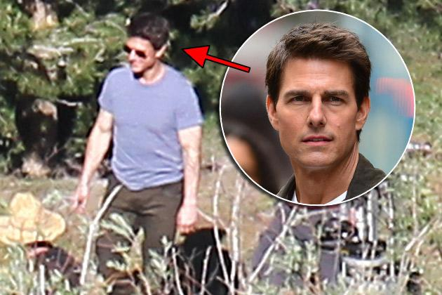 Tom Cruise grinst die Trennung einfach weg (Bilder: Splash, Getty Images)