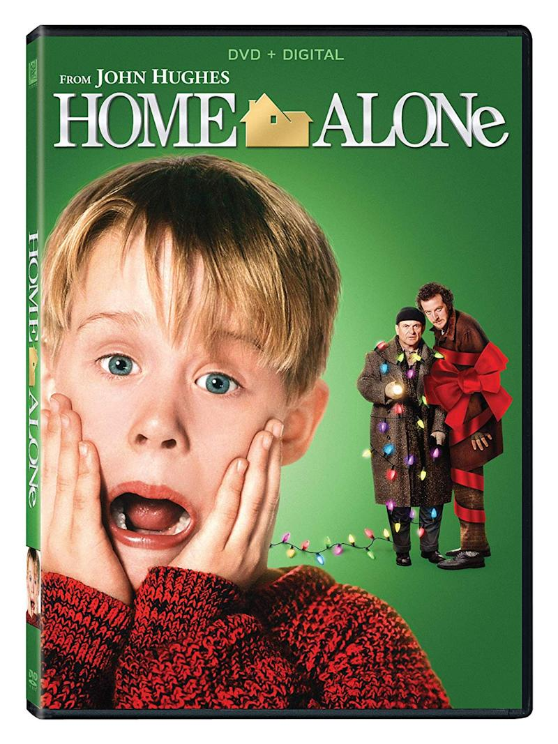 cover of Home Alone movie