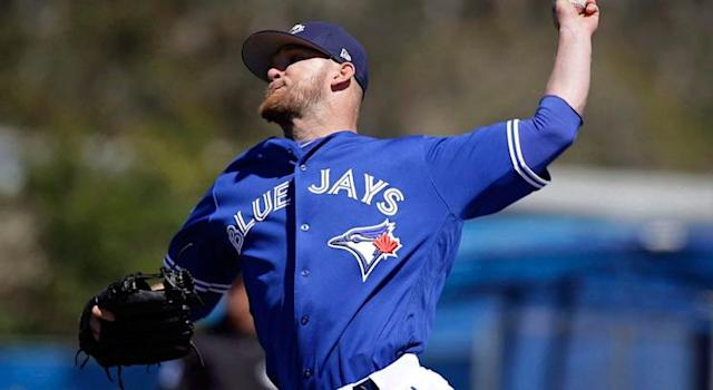 J.P. Howell's injury hasn't helped the Blue Jays' early bullpen woes. (THE CANADIAN PRESS/AP/John Raoux)