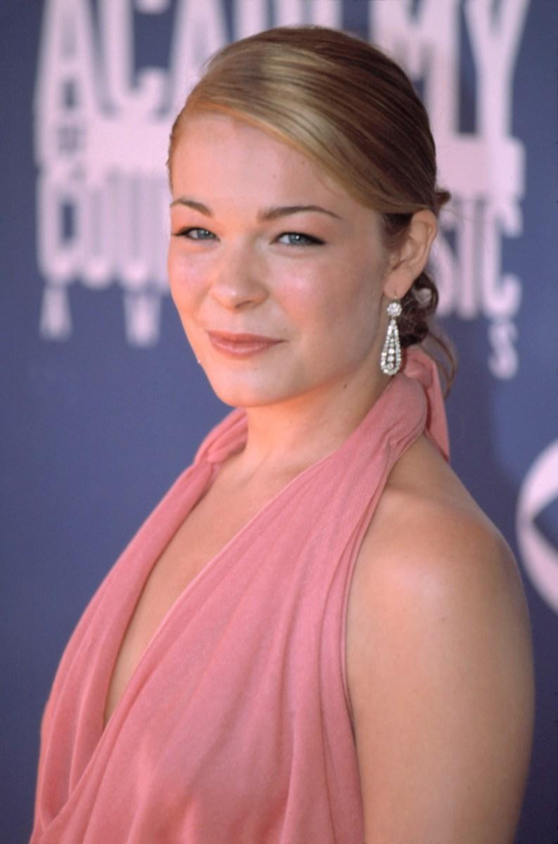 LeAnn Rimes at Academy of Country Music Awards in 2002