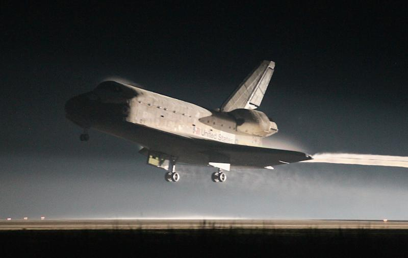 Atlantis Returns From Final Mission Of Space Shuttle Program