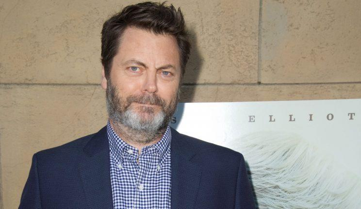 Nick Offerman Relinquishes The Ron Swanson Stache Bows Down To