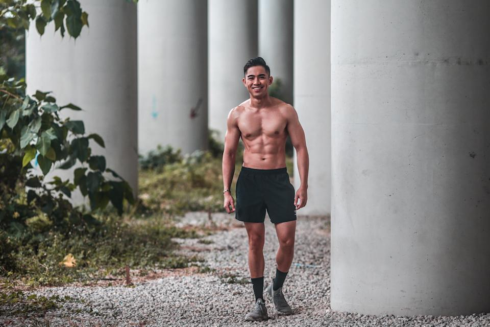 Singapore #Fitspo of the Week: Danil Palma. (PHOTO: Cheryl Tay)