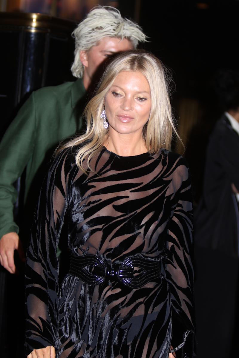 Kate Moss at The Daily Front Row's 7th Annual Fashion Media Awards in New York