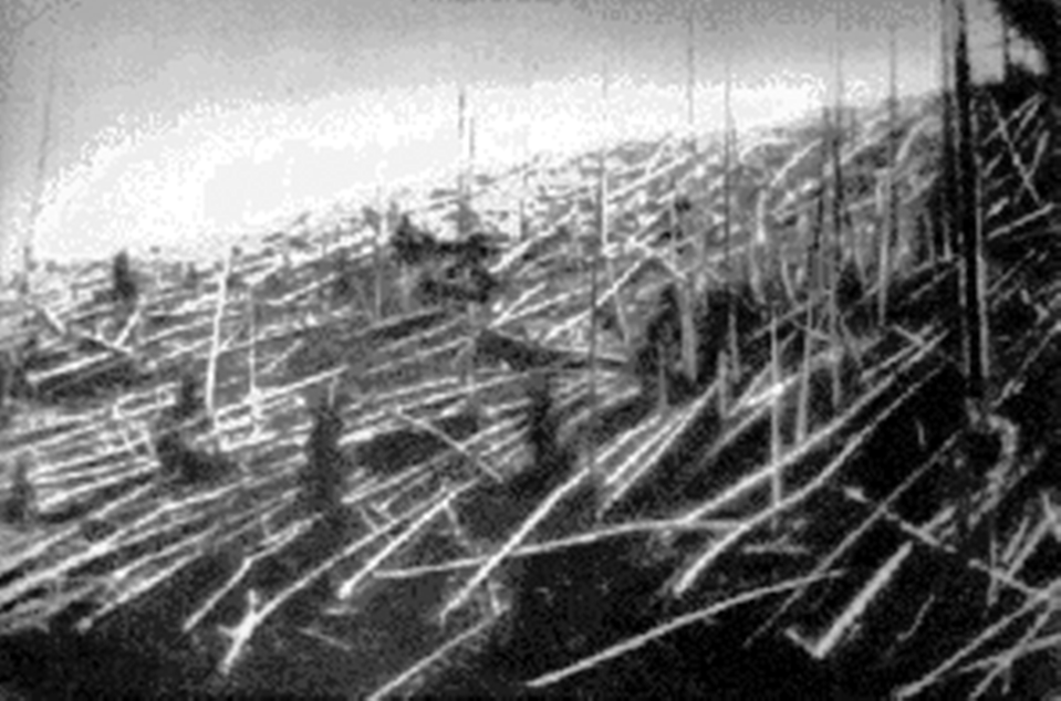 """<p>On June 30, 1908, an explosion rocked a Siberian forest. </p><p>Eighty million trees were flattened, torn from their roots with their branches sheared off by the force of the blast, <a href=""""https://science.nasa.gov/science-news/science-at-nasa/2008/30jun_tunguska/"""" rel=""""nofollow noopener"""" target=""""_blank"""" data-ylk=""""slk:according to NASA"""" class=""""link rapid-noclick-resp"""">according to NASA</a>. No one was killed, but herds of reindeer perished. Scientists have long assumed that the rocky body exploded over the impact site, but, curiously, no debris has ever been found.</p><p>In 2007, researchers <a href=""""https://www.wired.com/2007/06/russian-lake-ma/"""" rel=""""nofollow noopener"""" target=""""_blank"""" data-ylk=""""slk:claimed to have found"""" class=""""link rapid-noclick-resp"""">claimed to have found</a> an impact crater in a nearby lake. More recently, a <a href=""""https://academic.oup.com/mnras/article-abstract/493/1/1344/5722124?redirectedFrom=fulltext"""" rel=""""nofollow noopener"""" target=""""_blank"""" data-ylk=""""slk:paper"""" class=""""link rapid-noclick-resp"""">paper</a> published in March in the journal Monthly Notices of the Royal Astronomical Society suggested something far stranger: that the asteroid that slammed into Earth's atmosphere on that fateful day may have <a href=""""https://www.livescience.com/tunguska-impact-explained.html"""" rel=""""nofollow noopener"""" target=""""_blank"""" data-ylk=""""slk:actually bounced off and returned to space"""" class=""""link rapid-noclick-resp"""">actually bounced off and returned to space</a>. </p>"""