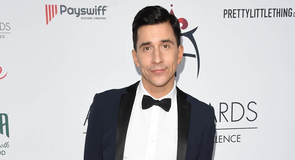 Comedian Russell Kane discusses male role models and 'bigorexia' in CALM's new talks (Getty)