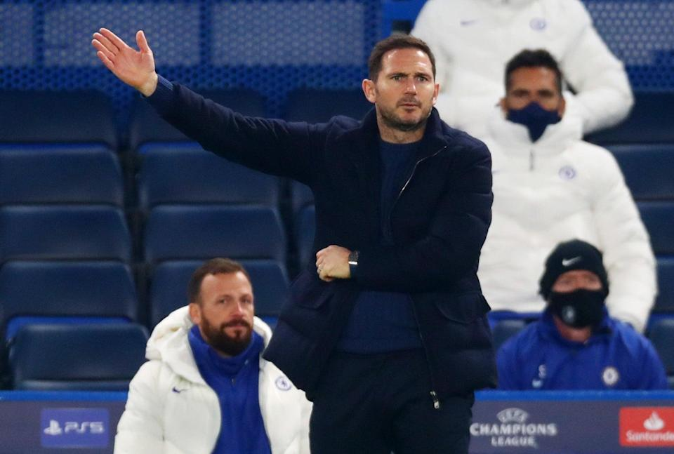 <p>Frank Lampard's Chelsea side face a long trip to Newcastle for a Saturday lunchtime kick-off</p> (Pool via REUTERS)