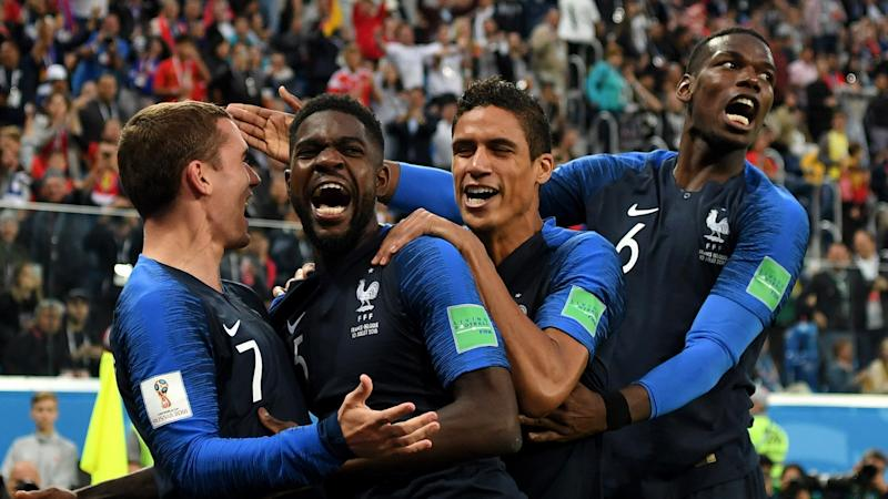 Les Blues will now play in the World Cup final for the third time in 20 yearsMore