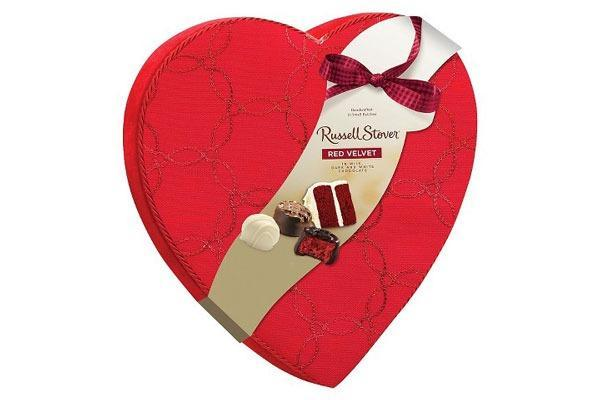 Valentines Candy Ranked Russell Stover Red Velvet