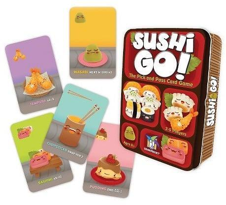 <p><span>Sushi Go! Card Game</span> ($9) is the perfect fast-paced game for a sleepover.</p>