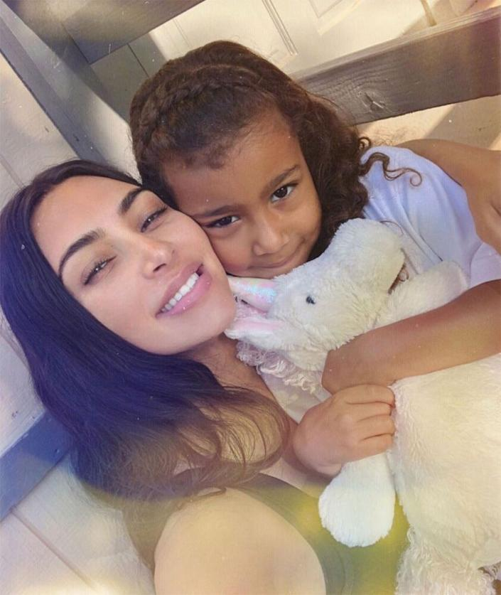 Kim Kardashian West and North | Kim Kardashian/Instagram