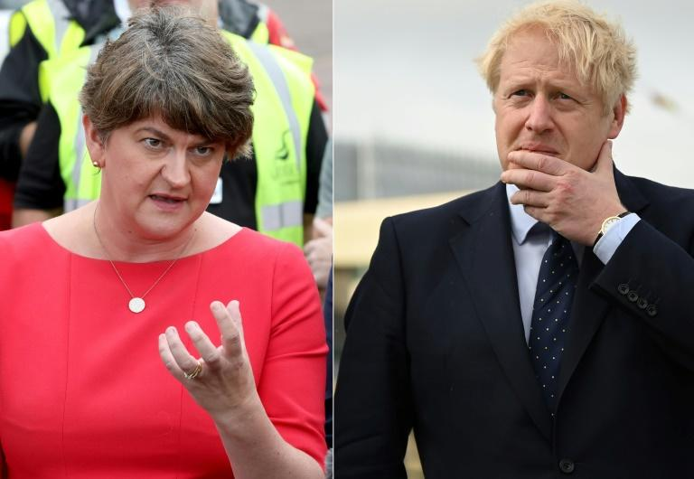 DUP leader Arlene Foster is expected to take to the stage at her party conference to attack Boris Johnson's freshly negotiated Brexit deal