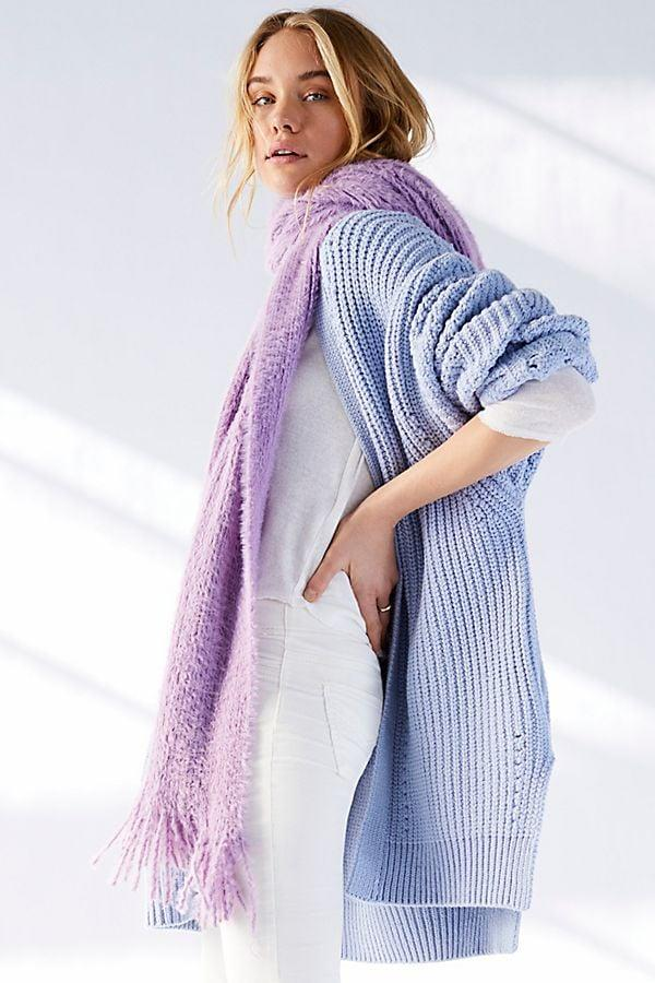 """<p>I can't wait to wrap myself up in this cozy <a href=""""https://www.popsugar.com/buy/Free-People-Whisper-Fringe-Blanket-Scarf-538964?p_name=Free%20People%20Whisper%20Fringe%20Blanket%20Scarf&retailer=freepeople.com&pid=538964&price=40&evar1=fab%3Aus&evar9=47092960&evar98=https%3A%2F%2Fwww.popsugar.com%2Fphoto-gallery%2F47092960%2Fimage%2F47092976%2FFree-People-Whisper-Fringe-Blanket-Scarf&list1=shopping%2Csale%2Ceditors%20pick%2Csale%20shopping&prop13=api&pdata=1"""" rel=""""nofollow"""" data-shoppable-link=""""1"""" target=""""_blank"""" class=""""ga-track"""" data-ga-category=""""Related"""" data-ga-label=""""https://www.freepeople.com/shop/whisper-fringe-blanket-scarf/?category=sale-all&amp;color=053"""" data-ga-action=""""In-Line Links"""">Free People Whisper Fringe Blanket Scarf</a> ($40, originally $49).</p>"""
