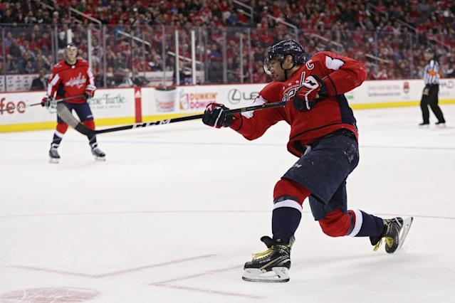 "<a class=""link rapid-noclick-resp"" href=""/nhl/players/3637/"" data-ylk=""slk:Alex Ovechkin"">Alex Ovechkin</a>'s scoring prowess may even be under-appreciated. (Getty Images)"