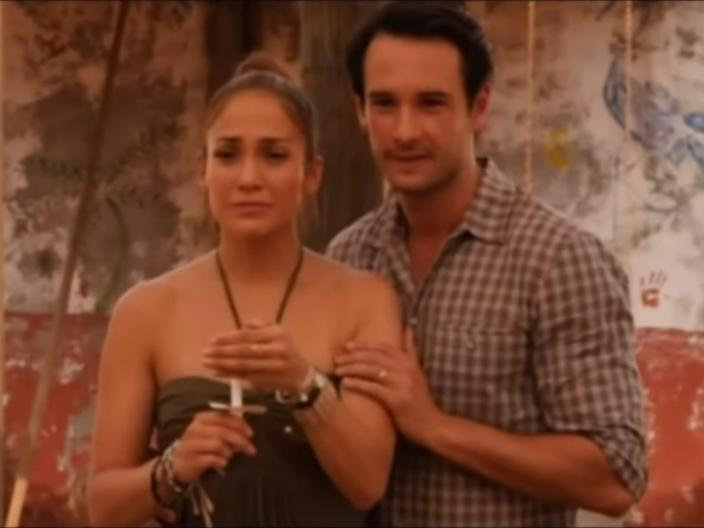 """Jennifer Lopez and Rodrigo Santoro in """"What to Expect When You're Expecting."""""""