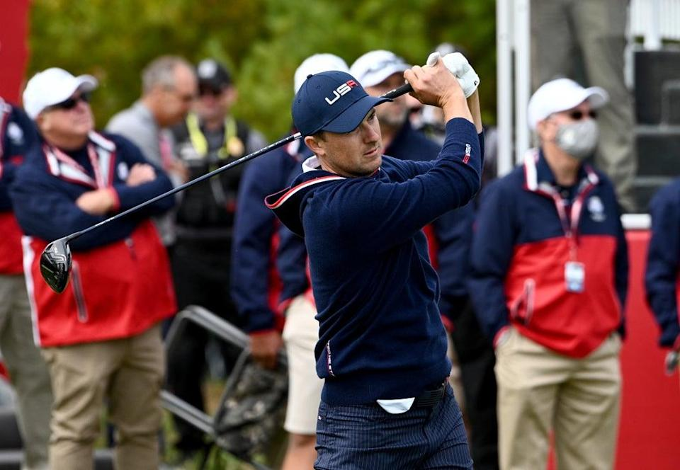 Jordan Spieth expects a repeat of the Ryder Cup triumph in Italy. (Anthony Behar/PA) (PA Wire)