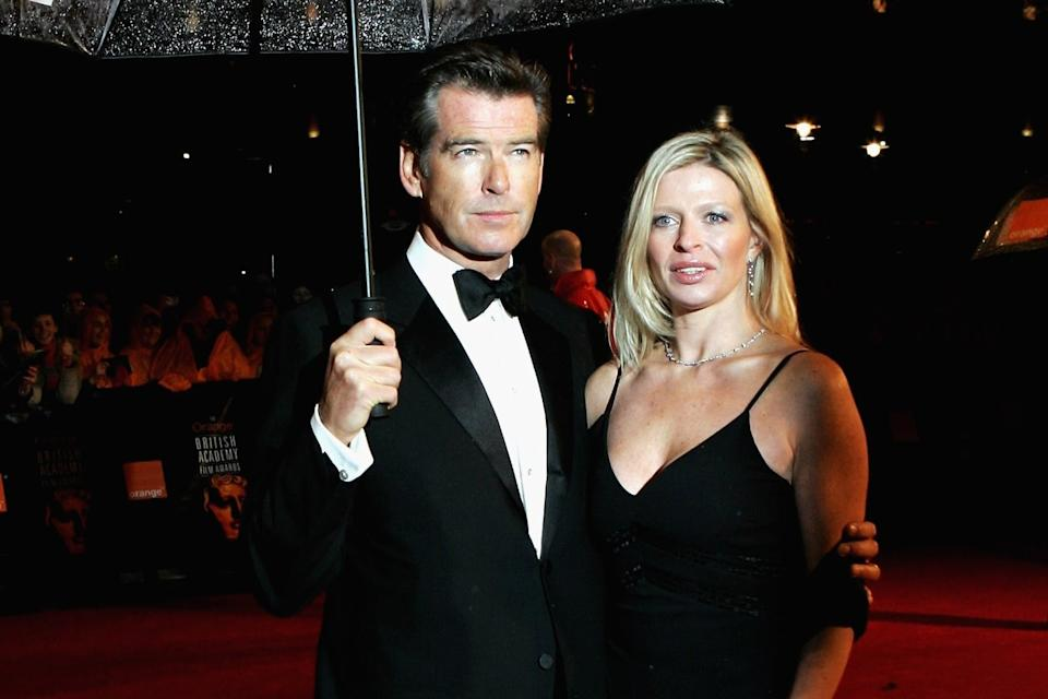 Loss: Pierce Brosnan with daughter Charlotte pictured at an award ceremony