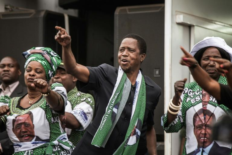 Zambia's President Edward Lungu is running for a contested second term in August