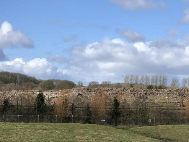 'We actually have friends who have moved because of the smell.' Walley's Quarry in Newcastle-under-Lyme. (James Morris)