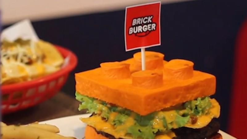 Everything Is Awesome At The Lego Themed 'Brick Burger' Restaurant