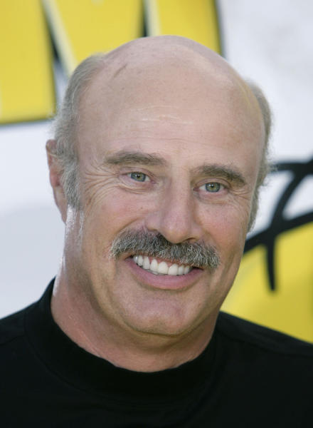 """FILE - In this July 24, 2007 file photo, Dr. Phil McGraw is shown in Los Angeles. McGraw has booked the first on-camera interview with the man who allegedly concocted the girlfriend hoax that ensnared Notre Dame football star Manti Te'o, confirmed on Friday, Jan. 25, 2013, by a spokesperson for the """"Dr. Phil Show."""" (AP Photo/Matt Sayles, File)"""