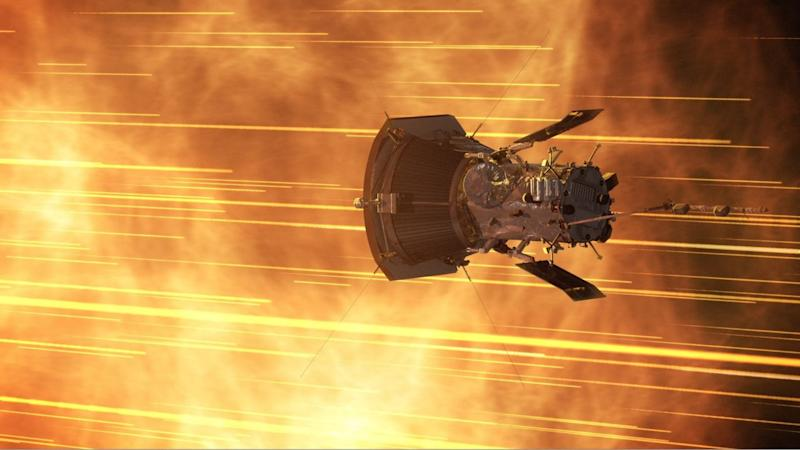 Parker has made several close approaches, and will continue to weave in and out of the sun's corona over it's remaining 6 years on the job. Image courtesy: NASA Goddard