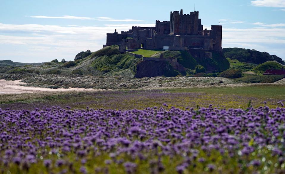 Bamburgh beach topped the list last year but still came in fifth spot. (Photo by Owen Humphreys/PA Images via Getty Images)