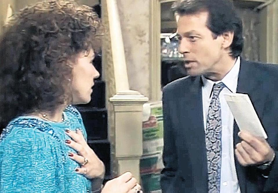 <p>Full of Christmas cheer, this classic EastEnders episode bummed fans out until well after the New Year, when Den found out Angie had invented a terminal illness to stop him from leaving her. It was watched by more than half the population of the UK at the time.</p>