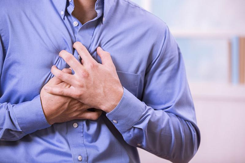 Alone at Health Clinic, Australian Treats Self for Heart Attack
