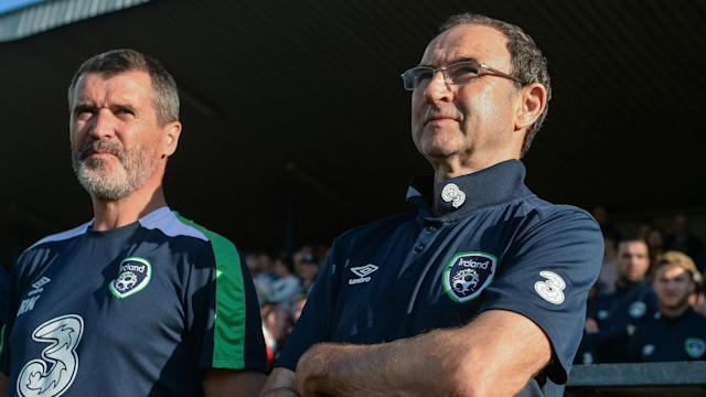 The former Celtic manager joked that his relationship with Roy Keane was strictly platonic, at a radio event in Cork