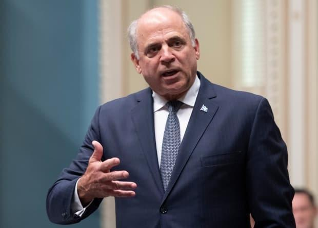 Pierre Fitzgibbon says he feels relieved after stepping down as the province's economy minister.  (Jacques Boissinot/The Canadian Press - image credit)
