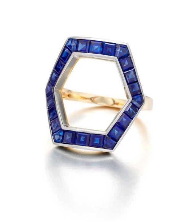 """<p><a class=""""body-btn-link"""" href=""""https://www.jessicamccormack.com/hex-blue-sapphire-ring"""" target=""""_blank"""">SHOP NOW</a></p><p>Allow Jessica McCormack's sapphire Hex ring to cast a glittering spell on you...</p><p>Sapphire ring, price on request, Jessi<a href=""""https://www.jessicamccormack.com/hex-blue-sapphire-ring"""" target=""""_blank""""></a>ca McCormack</p>"""