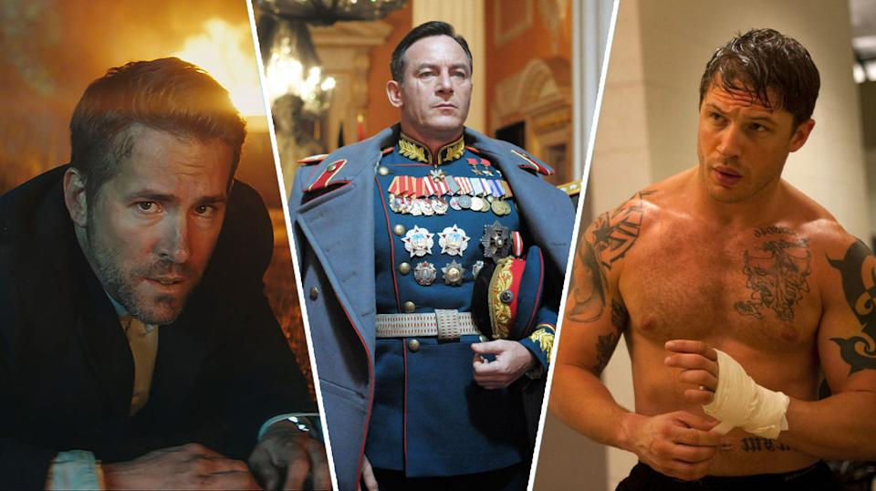The Hitman's Bodyguard, The Death of Stalin, Warrior.
