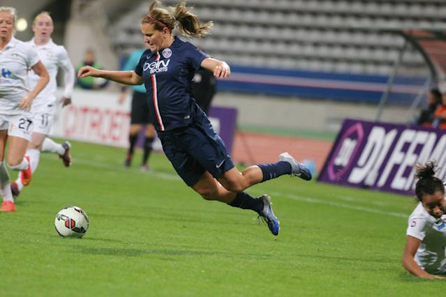 "<a class=""link rapid-noclick-resp"" href=""/olympics/rio-2016/a/1124268/"" data-ylk=""slk:Lindsey Horan"">Lindsey Horan</a>'s time with Paris Saint-Germain was historic, tough, and ultimately invaluable. (Getty)"