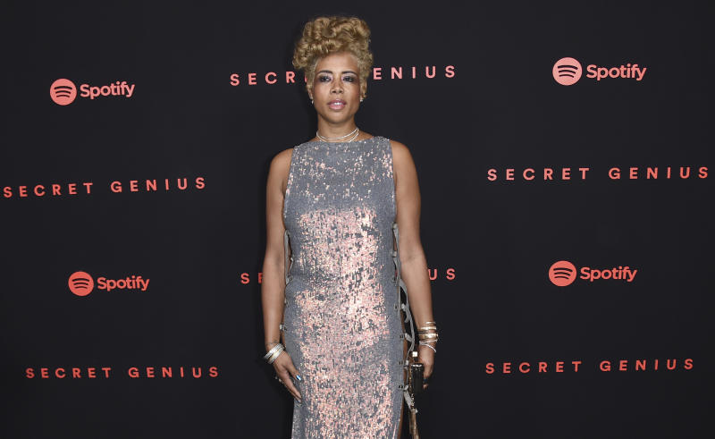 Kelis arrives at the Secret Genius Awards at Vibiana on Wednesday, Nov. 1, 2017, in Los Angeles. (Photo by Richard Shotwell/Invision/AP)