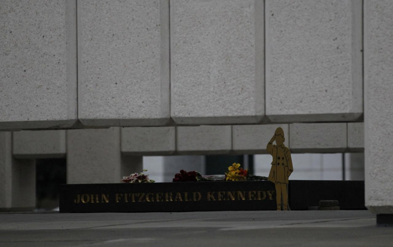 Photos: Dallas remembers JFK, its own wounds