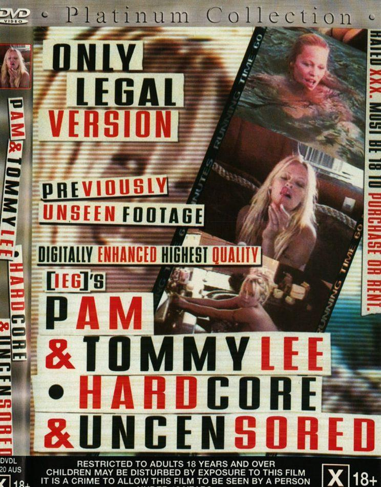 Tommy Lee and Pamela Anderson's sex tape.