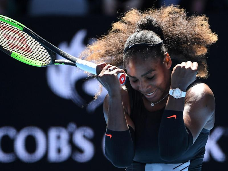 The 35-year-old American won the Australian Open in January while in the early stages of pregnancy: Getty
