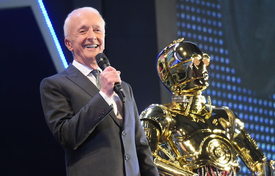 TOKYO, JAPAN - DECEMBER 11:  Anthony Daniels attends the special fan event for 'Star Wars: The Rise of Skywalker' at Roppongi Hills on December 11, 2019 in Tokyo, Japan.  (Photo by Jun Sato/WireImage)