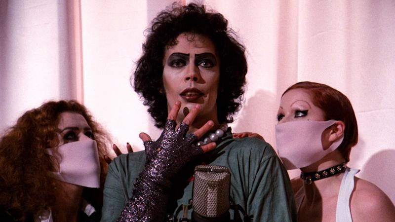 """This home's """"Rocky Horror"""" light show is the most fabulously intricate Halloween decoration you'll see this month"""