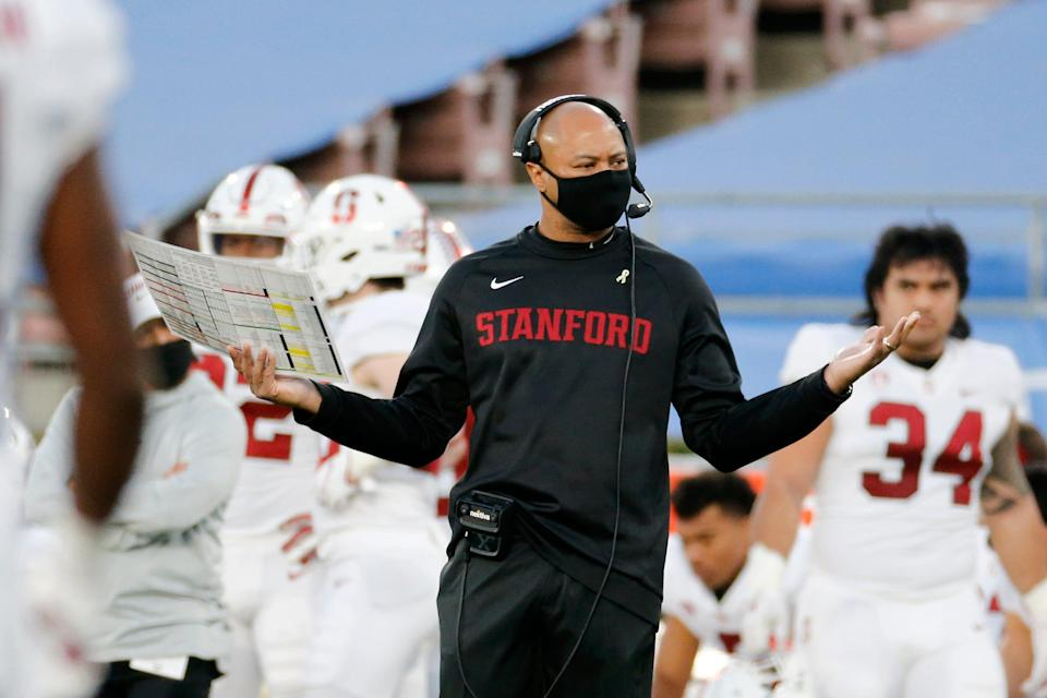 Coach David Shaw and Stanford don't shy away from a tough non-conference schedule.