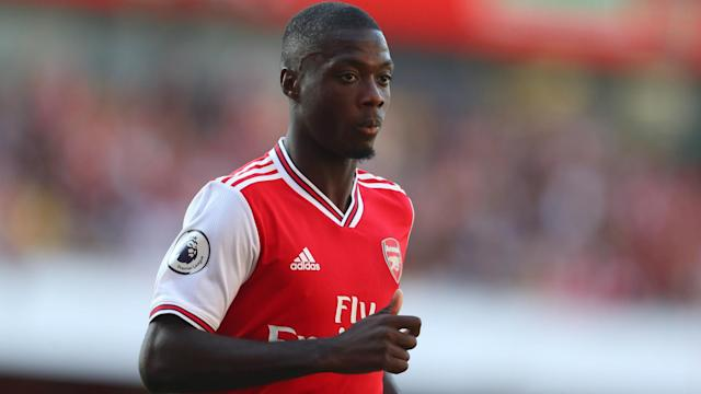 Nicolas Pepe's sluggish start to his Arsenal career could put his place in the team under threat, Arsene Wenger says.