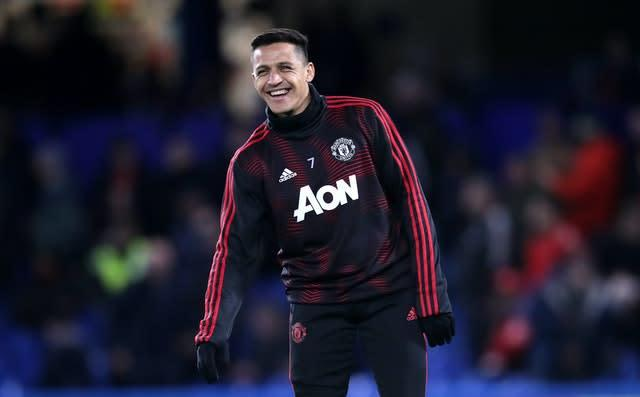 Sanchez was reportedly on £500,000 at Manchester United (Adam Davy/PA)