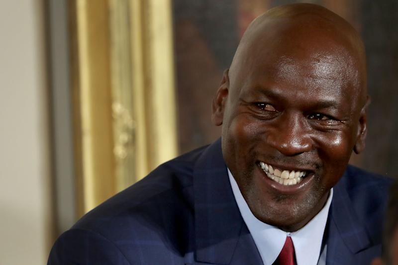 Michael Jordan answered a question about James Harden and Russell Westbrook with a boast about his ring count. More