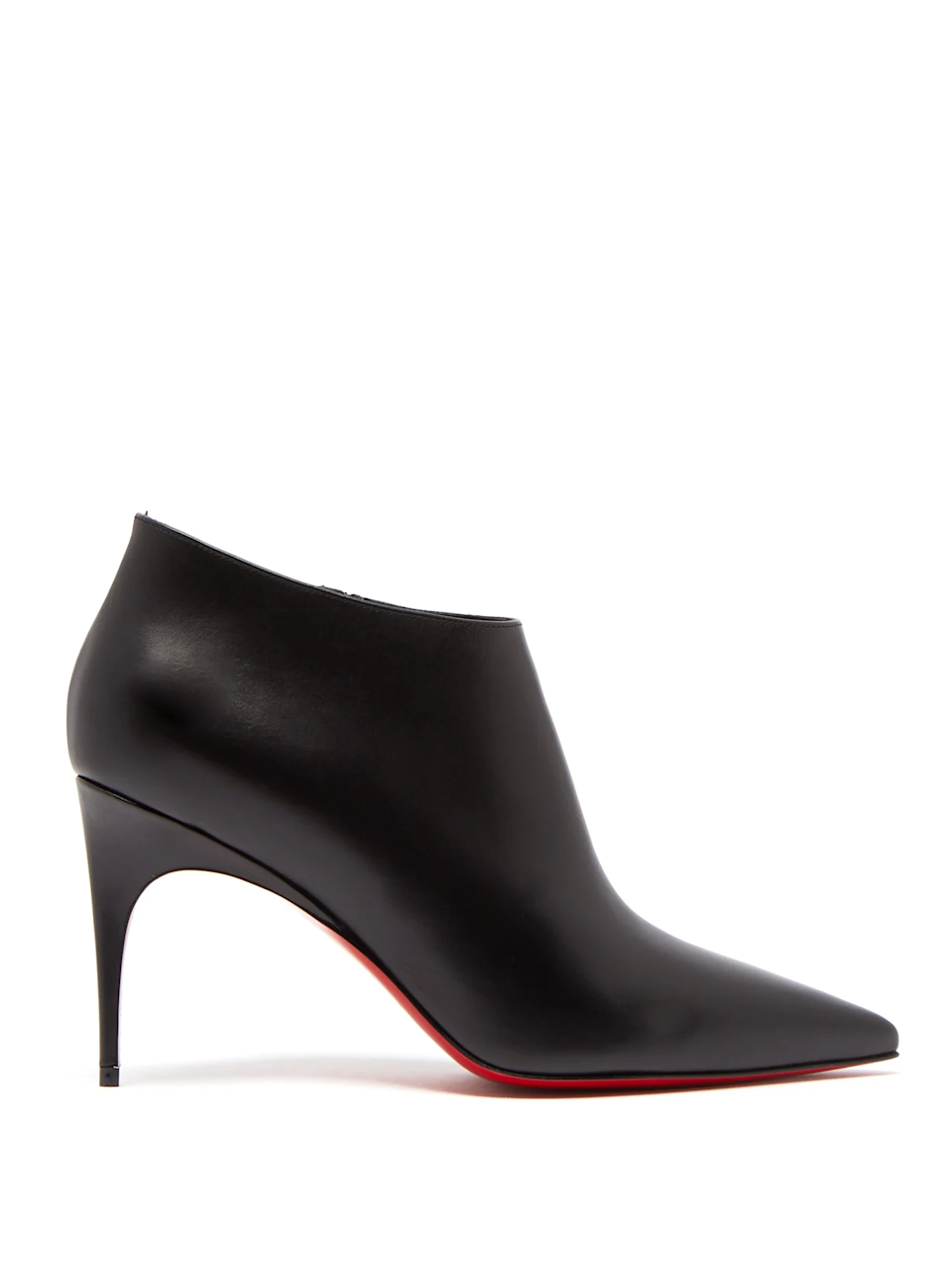 "<br><br><strong>Christian Louboutin</strong> Gorgona 85 leather ankle boots, $, available at <a href=""https://go.skimresources.com/?id=30283X879131&url=https%3A%2F%2Fwww.matchesfashion.com%2Fus%2Fproducts%2FChristian-Louboutin-Gorgona-85-leather-ankle-boots-1278792"" rel=""nofollow noopener"" target=""_blank"" data-ylk=""slk:Matches Fashion"" class=""link rapid-noclick-resp"">Matches Fashion</a>"